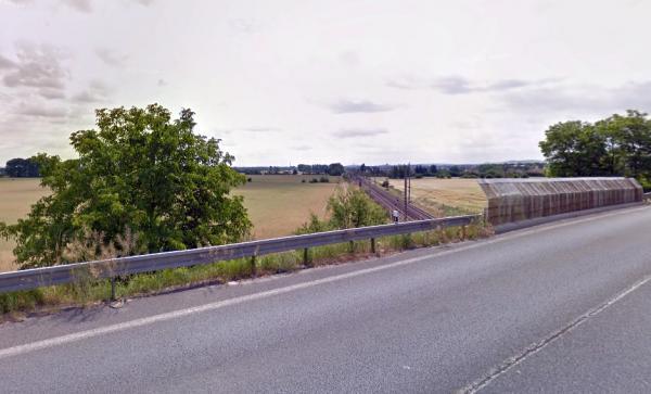Bude se opravovat most nad železniční tratí