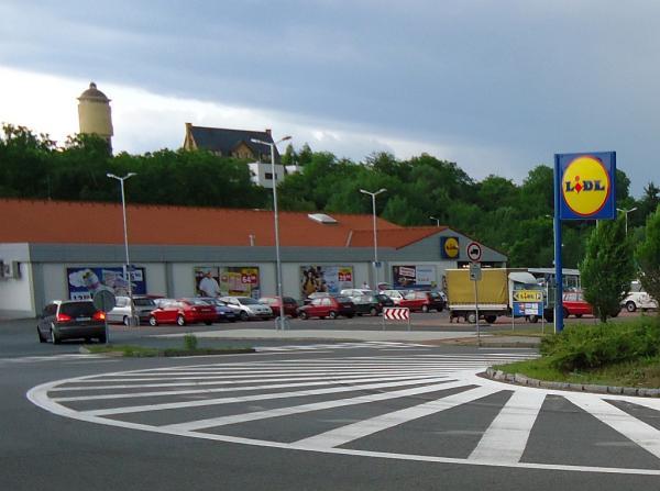 Prodejna Lidl v Pražské ulici v Kolíně   FOTO: Martin Prokop