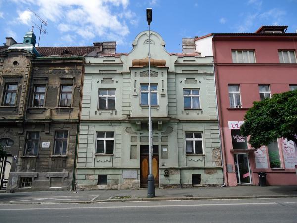 Objekt bývalé ubytovny v Legerově ulici č.p. 224 | FOTO: Martin Prokop