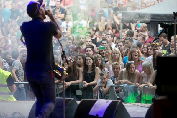 Tisíce lidí si užívaly den plný hudby a zábavy | FOTO: archiv TPCA