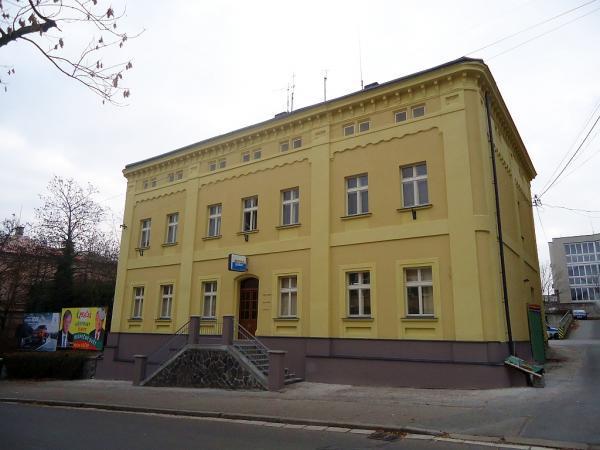 Budova Městské policie Kolín s opravenou fasádou | FOTO: Martin Prokop