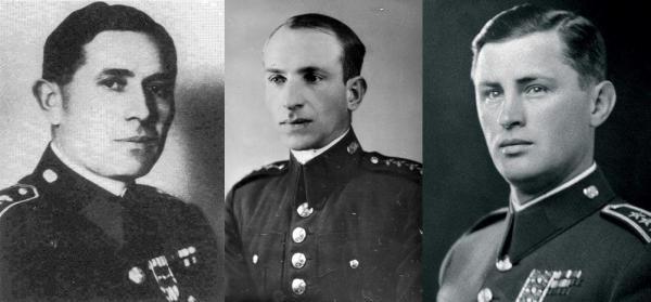 Josef Balabán, Václav Morávek, Josef Mašín