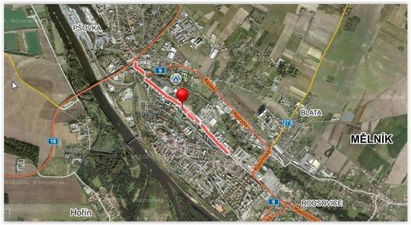 FOTO: ilustrační obrázek mapy.cz