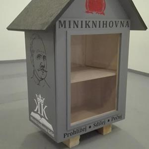 Miniknihovna pro Kmochův ostrov | FOTO: Městská knihovna Kolín