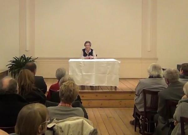 Věra Sosnarová | FOTO: Repro - záznam z přednášky